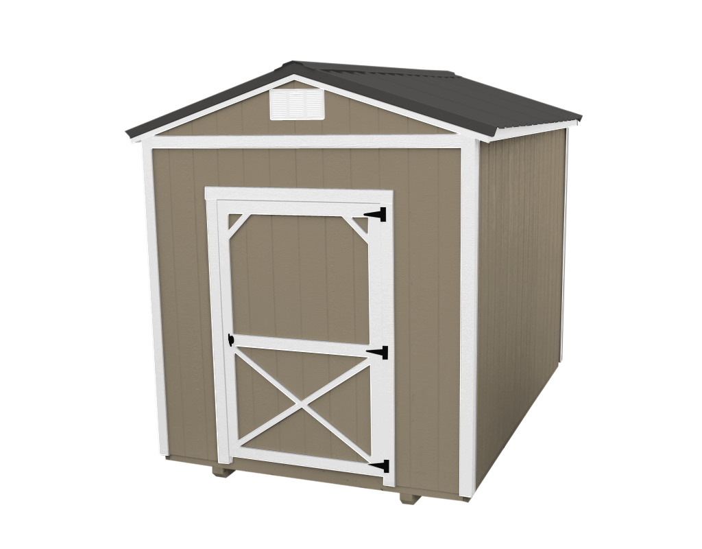 b ridge wood buildings r sheds shed wooden portable storage product front oak value x